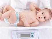 Bảng cân nặng trẻ sơ sinh theo chuẩn WHO
