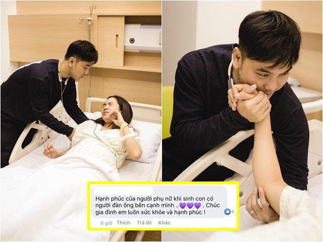 Sao Việt 24h: Lời xúc động của Ưng Hoàng Phúc khi thấy vợ vẫn đau đớn sau khi sinh con