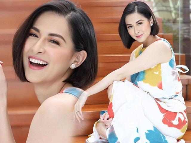 Bị chê kém xinh vìđổi tóc, mỹ nhân đẹp nhất Philippines tiếp tục cắt ngắn hơn dằn mặt CĐM