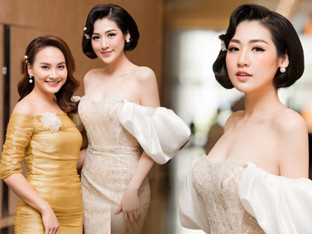 Đọ sắc cùng cô em Á hậu kém 3 tuổi, Bảo Thanh vẫn khẳng định độ trẻ đẹp bất chấp