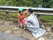 Mẹ Nghệ An sinh con giữa đường, chồng trở thành bà đỡ bất đắc dĩ