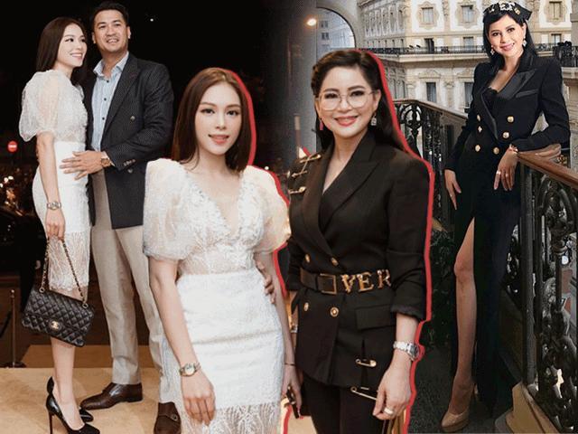 Vừa ra mắt gia đình thiếu gia Phillip Nguyễn, Linh Rin đã diện đồ đối đầu mẹ chồng tương lai