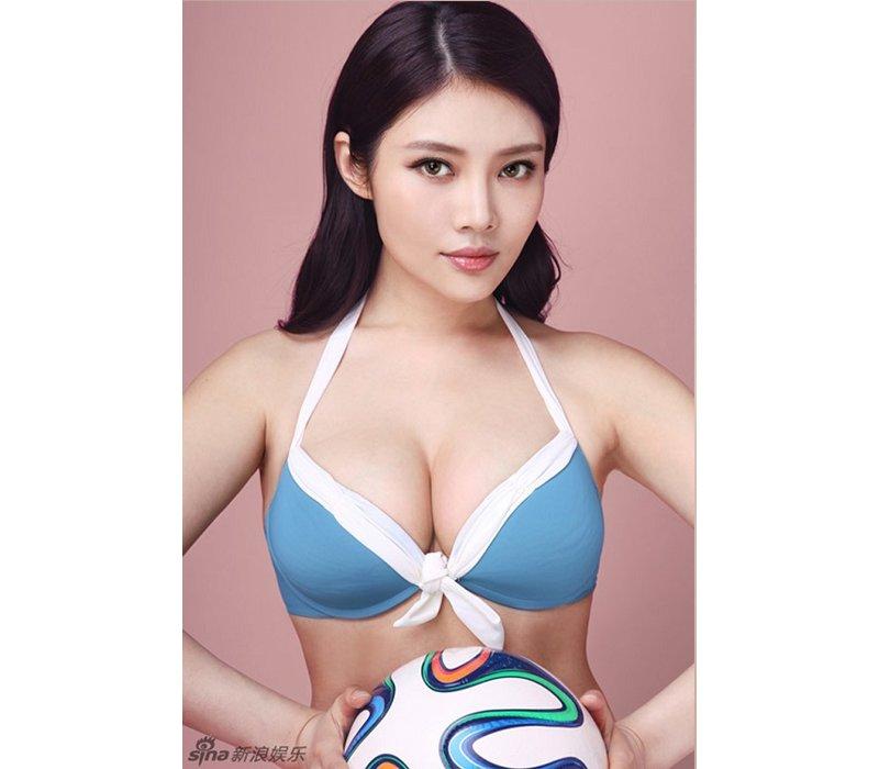 """Đặc biệt, người đẹp này còn nổi tiếng là mỹ nhân sở hữu vòng 1 """"khủng"""" nhất Trung Quốc."""