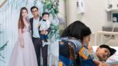 Ngọc Lan kể lại chuyện con bị co giật phải nhập viện và sự vắng mặt của Thanh Bình