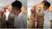 Người yêu cũ của cô dâu tới dự đám cưới, hành động của chú rể khiến ai cũng thán phục