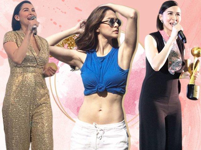 Sau 6 tháng lâm bồn, vóc dáng của mỹ nhân đẹp nhất Philippines vẫn thẳng đuột không đường cong