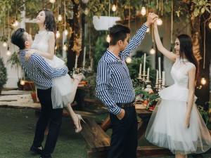 Bao năm diện đồ sến sẩm, Lâm Khánh Chi lần đầu hóa công chúa chỉ với một chiếc đầm trắng