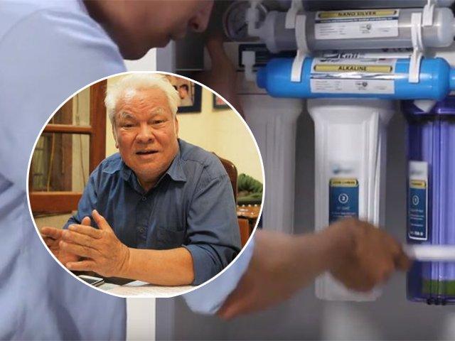 Nước bị ô nhiễm, người dân đổ xô mua máy lọc nước, chuyên gia nói: Vô tác dụng!
