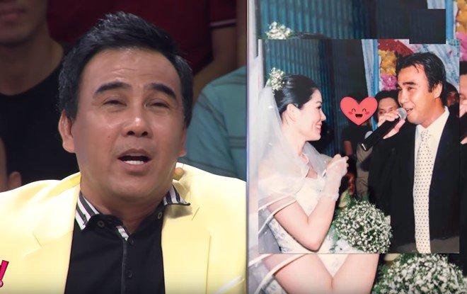 MC Quyền Linh kể chiêu cưa đổ vợ đẹp, Thân Thúy Hà ngượng khi được nhiều trai tán