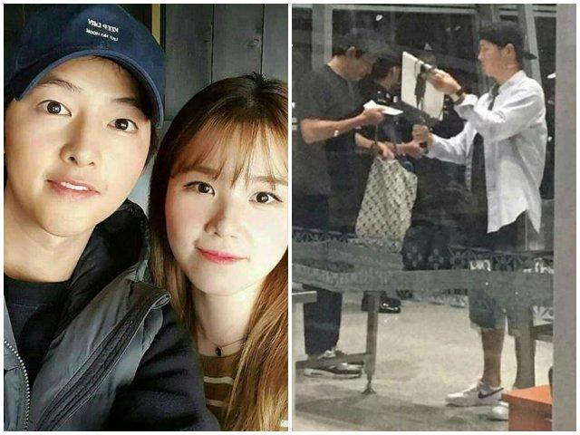 Có ai như Song Joong Ki: Sau hơn 3 tháng bỏ vợ, béo lên trông thấy, mặt tròn xoe