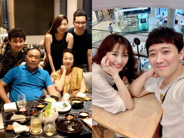 Hari Won vắng mặt trong sinh nhật mẹ ruột Trấn Thành, dân mạng liên tục đặt câu hỏi