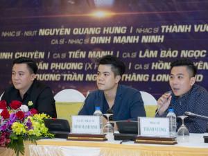 Bài ca tình yêu: Không gian âm nhạc đặc biệt của Đinh Mạnh Ninh, Quang Hưng, Thành Vương