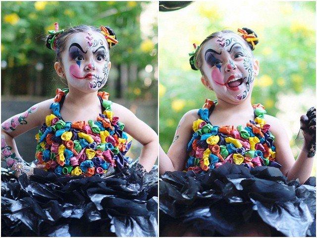 Hóa trang Halloween ấn tượng, con gái mỹ nhân Philippines được trường ra quyết định đặc biệt