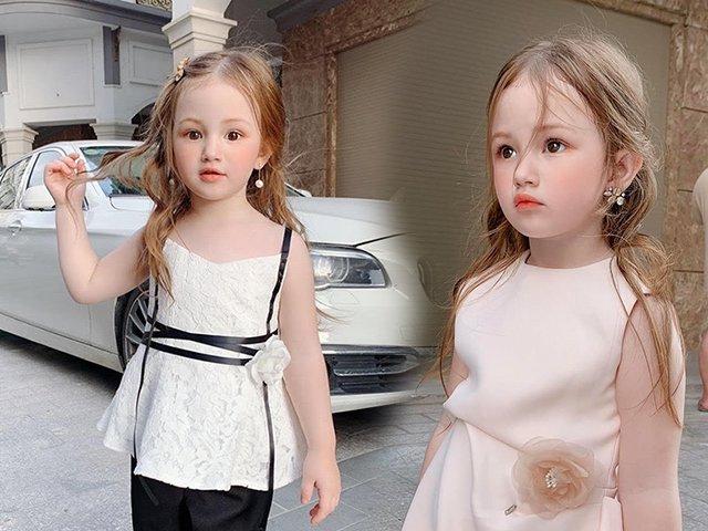Tiểu mỹ nhân trên phố Sài Gòn xinh như thiên thần, ngắm thôi mà muốn đẻ con gái liền