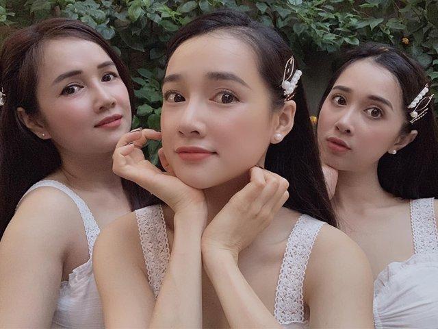 Sắc vóc ngày càng thăng hạng của 3 chị em Nhã Phương khiến ai cũng say lòng
