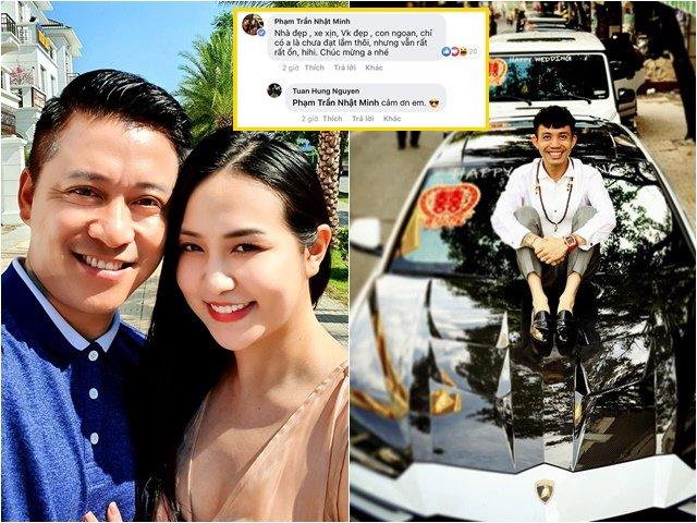 Sao Việt 24h: Đại gia Minh Nhựa cũng ngưỡng mộ nhà đẹp, xe xịn, vợ con xinh của Tuấn Hưng