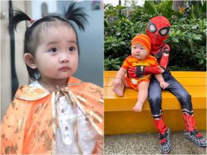 Sao Việt 24h: Con gái Khánh Thi hoá trang cực yêu, nhìn đến con trai Trà My mà phì cười