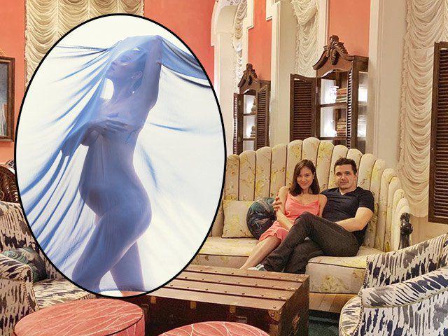 Sở thích lạ của chồng Tây khi Phương Mai mang bầu: Liên tục gạ vợ chụp ảnh nude