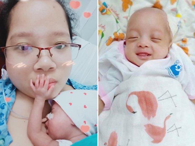 Mang thai đôi một trai một gái, mẹ Sài Gòn đẻ xong chỉ được bế về một bé