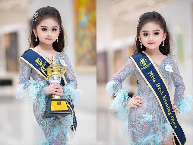 Bé gái 6 tuổi đã make-up đậm đà như Hoa hậu, dân mạng bối rối khi xem ảnh tẩy trang
