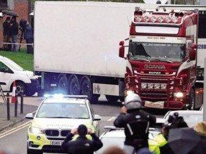 Bộ Công an: 39 nạn nhân trong container ở Anh đều là người Việt Nam ở 6 tỉnh thành