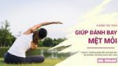 6 động tác Yoga giúp bạn lấy lại cân bằng cuộc sống, giải tỏa hết mệt mỏi