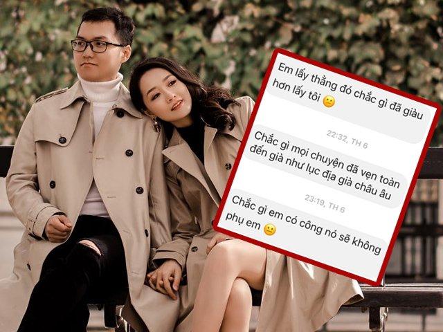 Ảnh cưới tại Paris của BTV Thời sự Thu Hà, phì cười với tin nhắn người tán cô dai dẳng