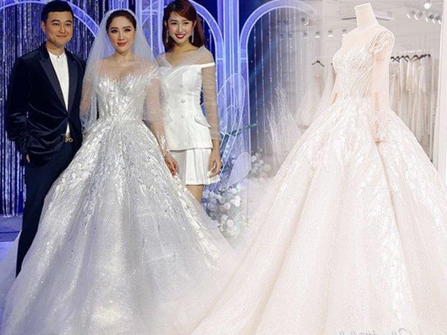 Bảo Thy diện 3 bộ váy cưới ren tinh xảo, tôn trọn sắc vóc tựa nữ thần ngày lấy chồng
