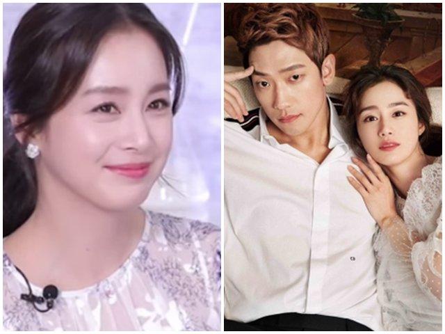 Xuất hiện sau hơn 1 tháng sinh con, Kim Tae Hee nói về mối quan hệ với Bi Rain