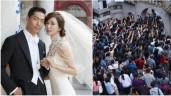 """Những cái nhất chỉ có trong đám cưới của """"chân dài đắt giá nhất xứ Đài"""" Lâm Chí Linh"""