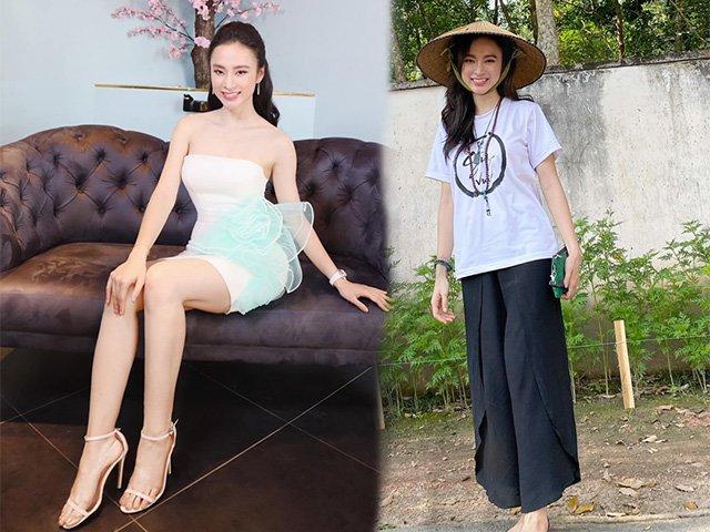 Angela Phương Trinh bất ngờ diện áo cúp ngực sau thời gian kín đáo