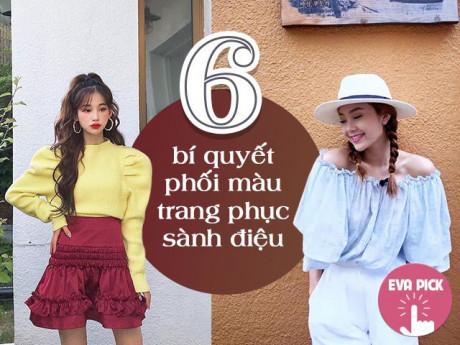 6 bí quyết phối màu trang phục hot nhất Hàn Quốc - vừa nịnh da vừa đẹp mắt