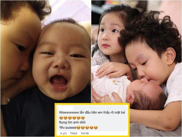 Sao Việt 24h: Tuấn Hưng khoe ảnh cận mặt con trai thứ 3 kháu khỉnh