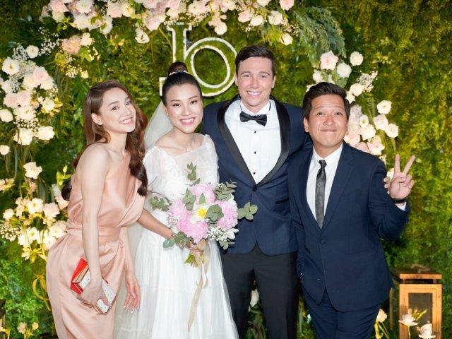 Đám cưới Hoàng Oanh: Cô dâu tiết lộ tên con đầu lòng, chú rể muốn sinh 6 đứa con