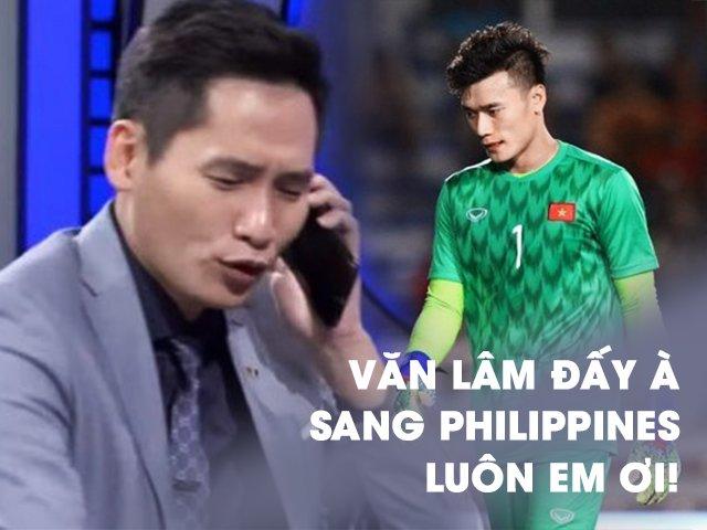 Bùi Tiến Dũng mắc sai lầm, BTV Quốc Khánh gọi điện cho Văn Lâm, người hâm mộ nổi giận