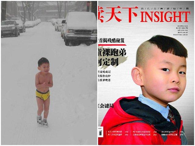 Bé 8 tuổi vào đại học nhờ cách giáo dục cởi trần chạy dưới tuyết, học 11 tiếng/ngày của bố