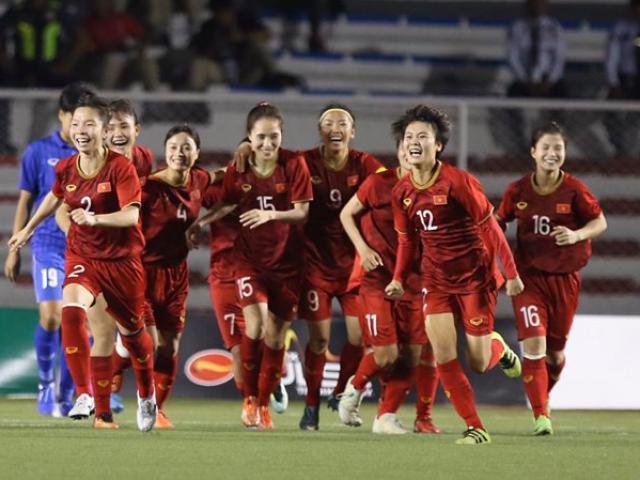 Đội tuyển nữ Việt Nam lần thứ 6 vô địch SEA Games, vỡ òa phút đăng quang