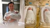 MC Thành Trung xác nhận 2 con trai sinh đôi đã chào đời ở thời khắc đặc biệt