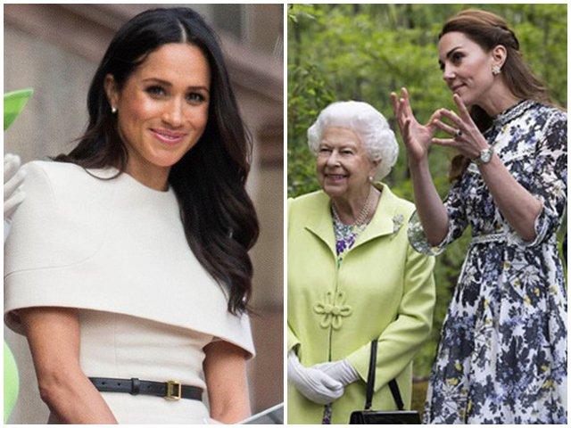 Meghan bị ghẻ lạnh, chị dâu cả Công nương Kate được Nữ hoàng Anh nâng niu