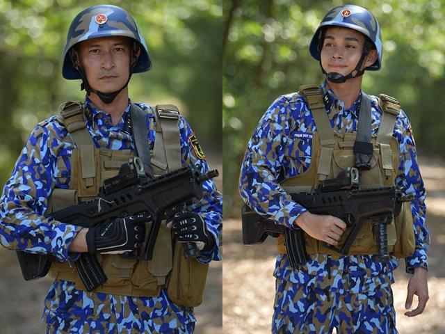 Sao nhập ngũ: Huy Khánh, Jun Phạm sướng vì được cầm súng bắn đạt thật
