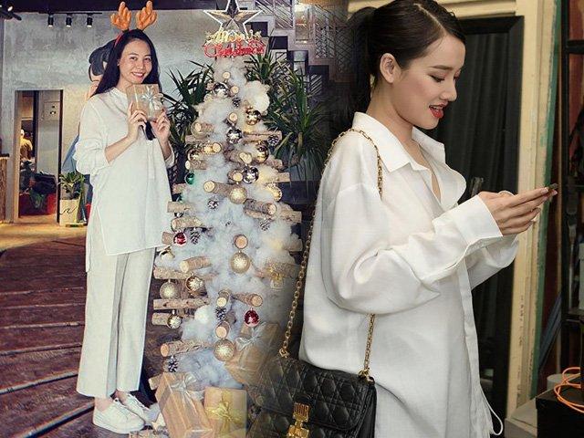Tìm ra chiếc áo giấu bụng bầu quốc dân, Nhã Phương, Đàm Thu Trang, Hoàng Oanh đều diện