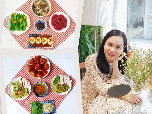 9X Sài Gòn gợi ý thực đơn cả tuần không trùng một món, chồng mê mẩn ăn mãi không chán