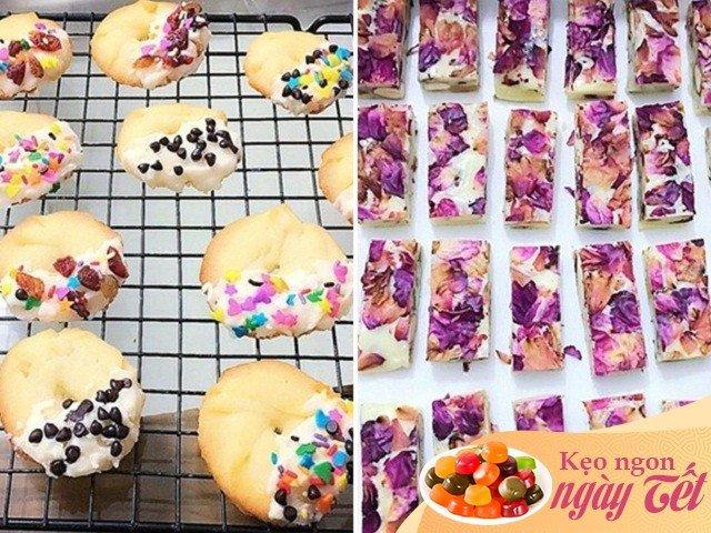 Học vợ đảm làm các loại bánh kẹo ngon hết ý đãi khách ngày Tết