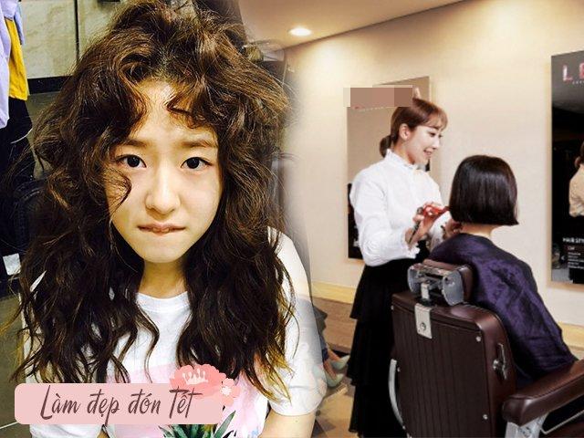 Trước tết, chị em đi làm tóc không muốn rơi vào cảnh thảm hoạ nên biết những điều này
