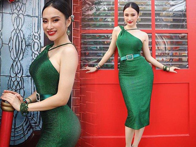 Chỉ diện váy áo đơn giản, Angela Phương Trinh đủ tấn công người nhìn bằng ngực đầy mông cong