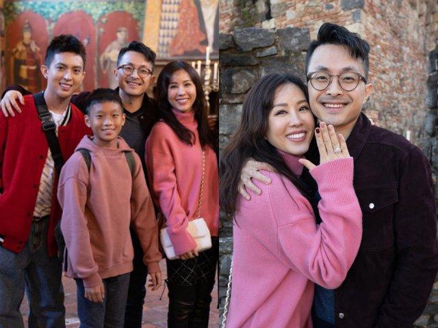 Bạn trai kém 10 tuổi bật khóc, cầu hôn Hoa hậu Thu Hoài bằng nhẫn kim cương khủng
