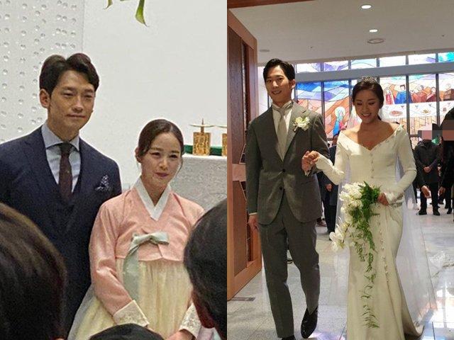 Đám cưới em trai Kim Tae Hee: Cô dâu chú rể không nổi bật bằng anh rể - chị gái