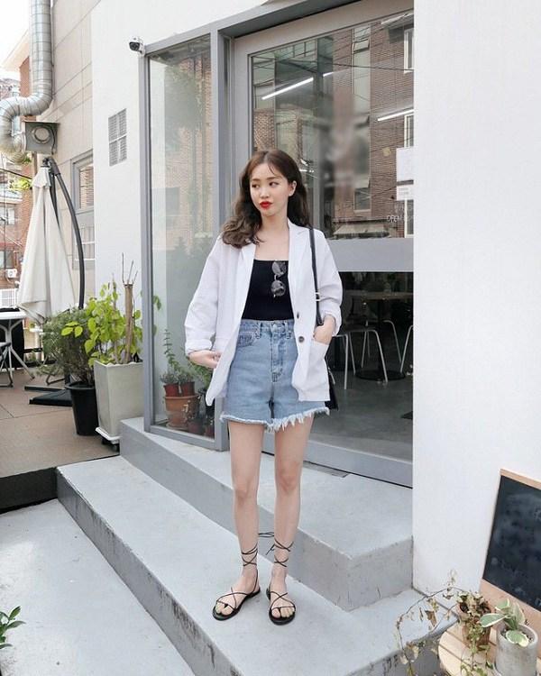 Kiểu quần short hợp thời tiết mát mẻ, nàng diện xuống phố đảm bảo cá tính và sành điệu - 8