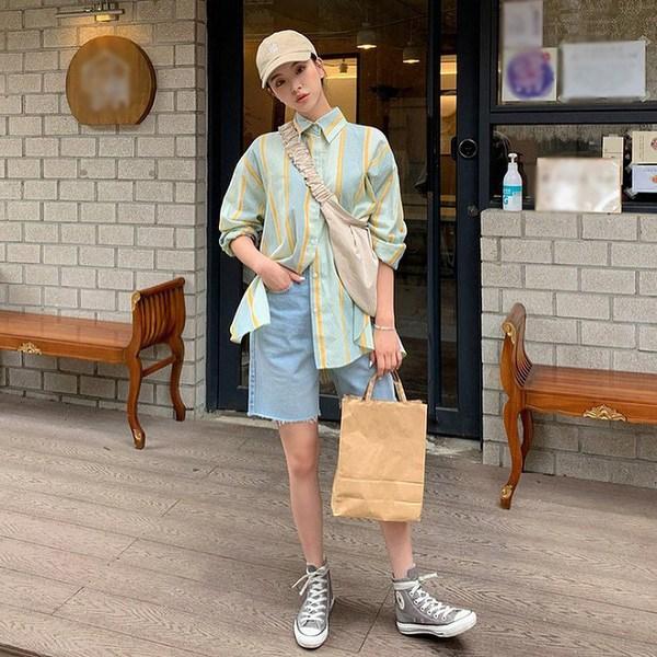 Kiểu quần short hợp thời tiết mát mẻ, nàng diện xuống phố đảm bảo cá tính và sành điệu - 5