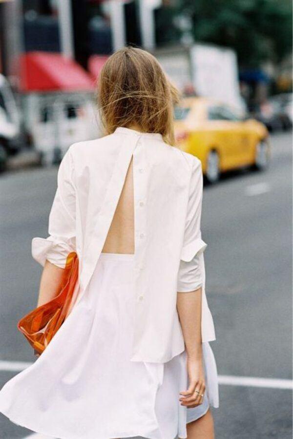 Là chuyện biết rồi nói mãi, váy áo hở lưng rộng huếch vẫn được không ít nàng diện ra phố - 28